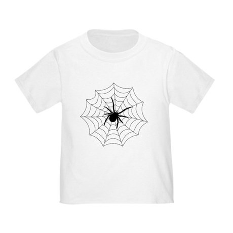 Spider Web Toddler T-Shirt
