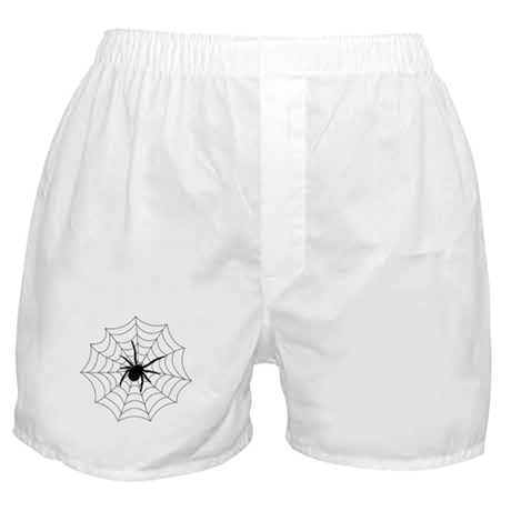 Spider Web Boxer Shorts