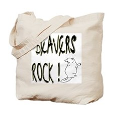 Beavers Rock ! Tote Bag