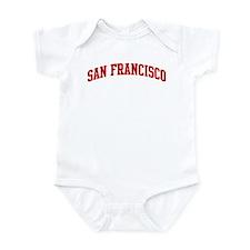 SAN FRANCISCO (red) Onesie