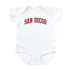 SAN DIEGO (red) Infant Bodysuit
