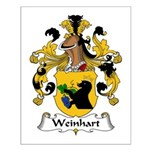 Weinhart Family Crest Small Poster
