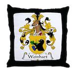 Weinhart Family Crest Throw Pillow