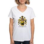 Weinhart Family Crest Women's V-Neck T-Shirt