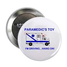 """Paramedic's Toy 2.25"""" Button (10 pack)"""