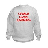 Camila Loves Grandpa Sweatshirt
