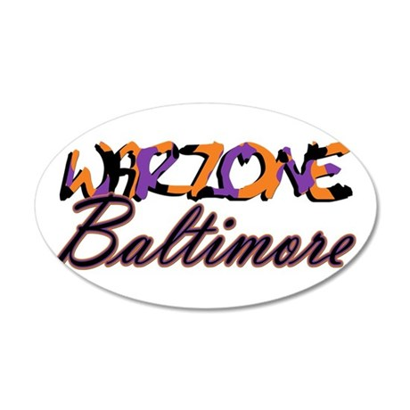 Warzone Baltimore Wall Decal
