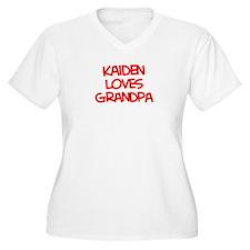 Kaiden Loves Grandpa T-Shirt