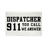 Dispatcher Call Rectangle Magnet