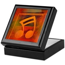 Red Note Keepsake Box