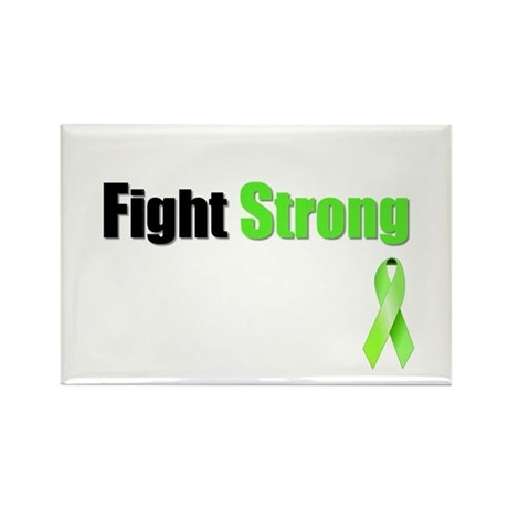 Fight Strong Rectangle Magnet