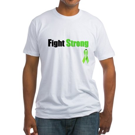 Fight Strong Fitted T-Shirt