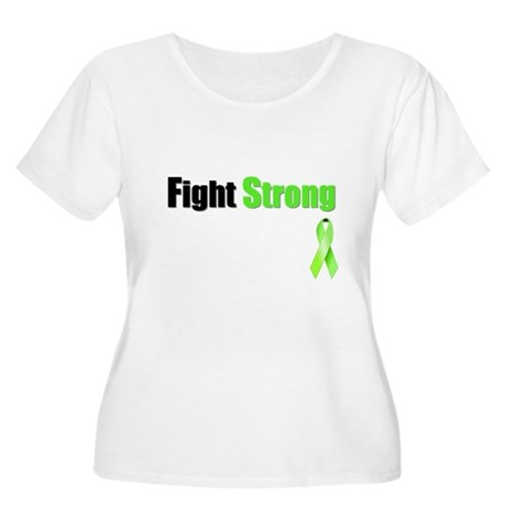 Fight Strong Women's Plus Size Scoop Neck T-Shirt
