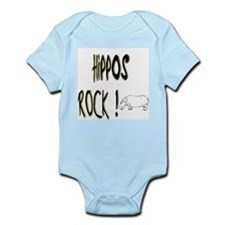 Hippos Rock ! Infant Bodysuit