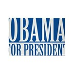 obama01 Rectangle Magnet (10 pack)