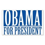 obama01 Rectangle Sticker