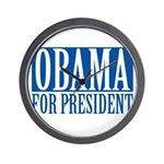 obama01 Wall Clock