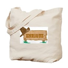 Enrique western Tote Bag