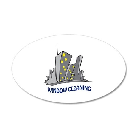 WINDOW CLEANING Wall Decal