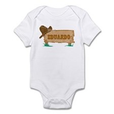 Eduardo western Infant Bodysuit