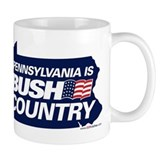 PA is BUSH Country Coffee Mug