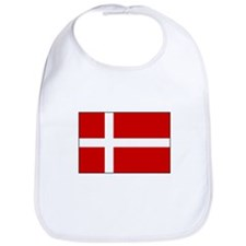 Danish Flag Bib