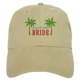 Bride Tropical Island Baseball Cap