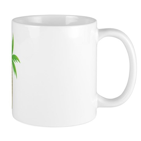 Jr Bridesmaid Tropical Wedding Mug