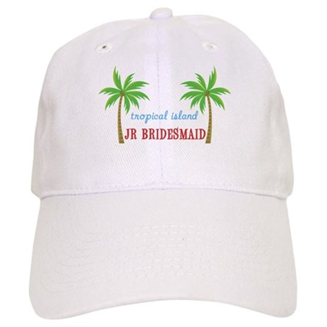 Jr Bridesmaid Tropical Wedding Cap