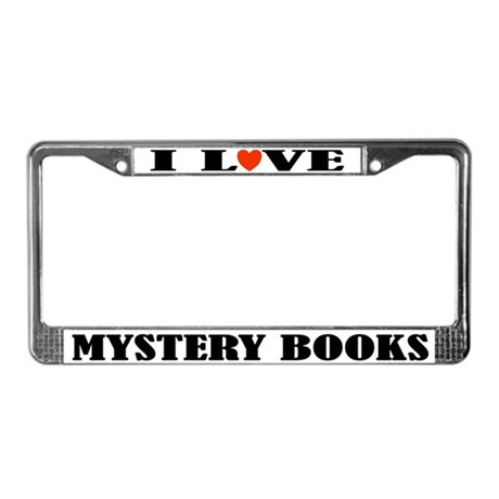 Mystery Lover License Plate Frame