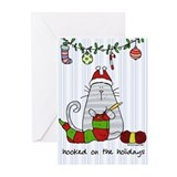 Hooked on the holidays Greeting Cards (Pk of 10)