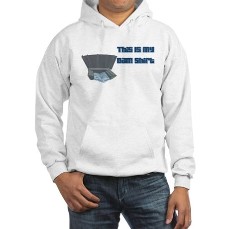 Dam T-Shirt Hooded Sweatshirt