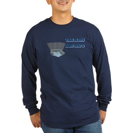 Dam T-Shirt Long Sleeve Dark T-Shirt