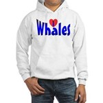 Whales Hooded Sweatshirt