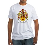 Trumbach Family Crest Fitted T-Shirt