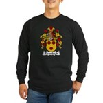 Trumbach Family Crest Long Sleeve Dark T-Shirt