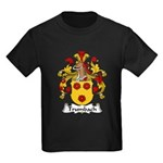 Trumbach Family Crest Kids Dark T-Shirt