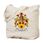Trumbach Family Crest Tote Bag