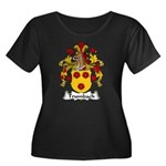 Trumbach Family Crest Women's Plus Size Scoop Neck