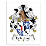 Tiefenbach Family Crest  Small Poster
