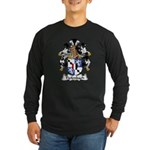 Tiefenbach Family Crest Long Sleeve Dark T-Shirt