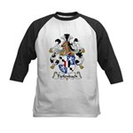 Tiefenbach Family Crest  Kids Baseball Jersey