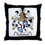 Tiefenbach Family Crest  Throw Pillow