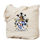 Tiefenbach Family Crest  Tote Bag