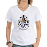 Tiefenbach Family Crest  Women's V-Neck T-Shirt