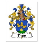 Thein Family Crest Small Poster