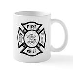Fire Chief Maltese Mug