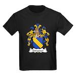 Strasser Family Crest Kids Dark T-Shirt