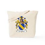 Strasser Family Crest Tote Bag