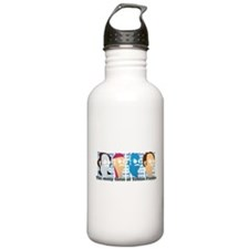 Many Faces of Tobias Water Bottle